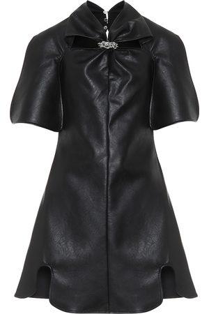 Ellery Bora Bora faux-leather minidress