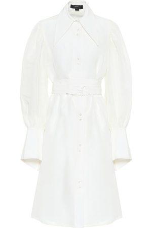 Ellery Antigua linen-blend shirt dress