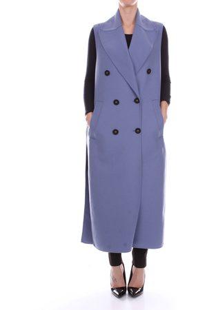 ALBINO TEODORO Coat Women Sky