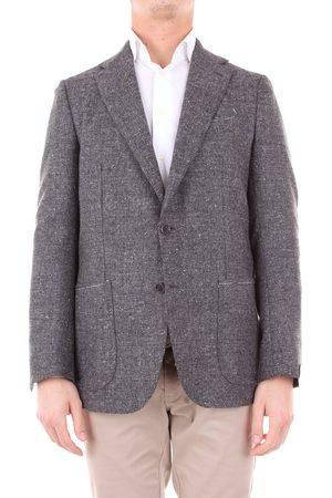 LUIGI BORRELLI NAPOLI Jacket Men Grey