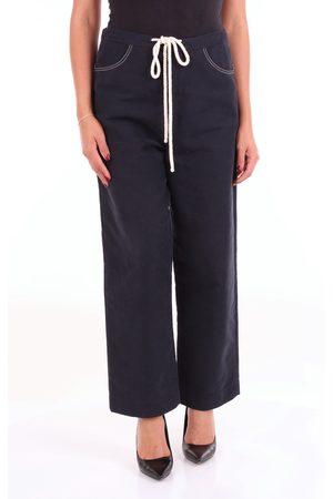 SARA LANZI Pantalone Women Dark