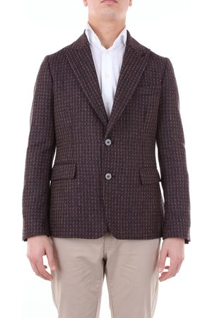 REVERES Jacket Men and burgundy