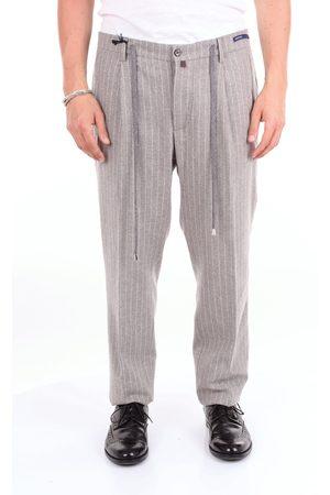 Baronio Pantalone Men pinstripe