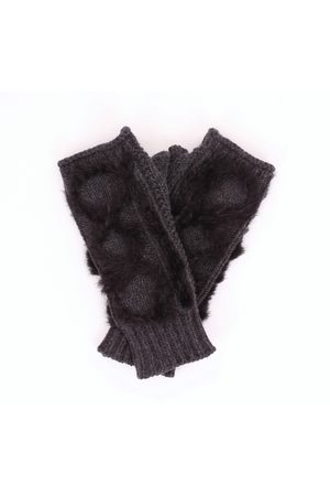 LORENA ANTONIAZZI Gloves Women Anthracite and