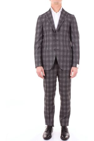 LUIGI BORRELLI NAPOLI Dress Men Grey