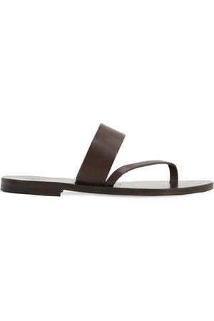 Álvaro 10mm Leather Thong Sandals