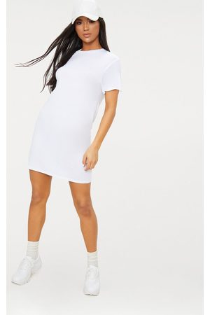 PRETTYLITTLETHING Basic Short Sleeve T Shirt Dress