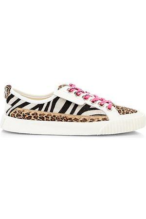 Jimmy choo Women's Impala Animal-Print Calf Hair Sneakers - - Size 42 (12)