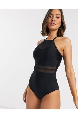 Pour Moi Women Swimsuits - Beach Bound high neck swimsuit in