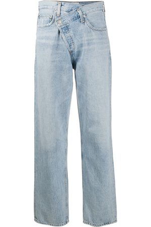 AGOLDE Mid-rise straight jeans