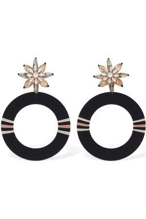 MaryJane Claverol Emma Hoop Earrings
