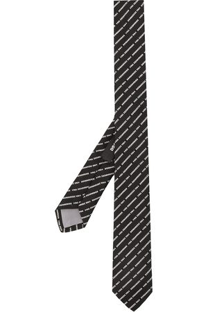 Dsquared2 Embroidered logo tie