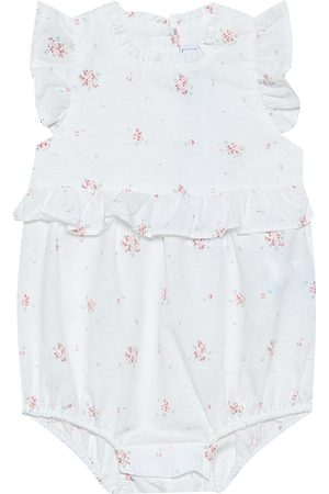 Tartine Et Chocolat Baby floral stretch-cotton playsuit