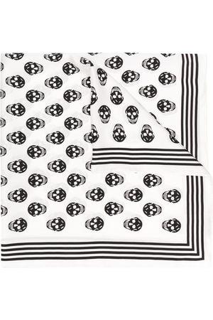 Alexander McQueen Women Scarves - Skull print scarf