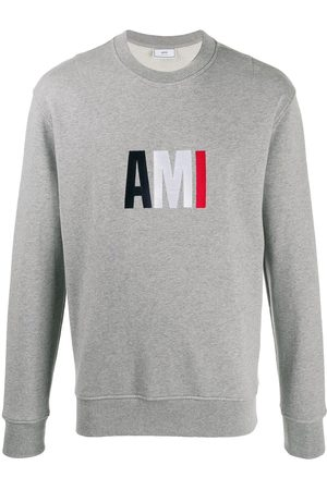 Ami Logo sweatshirt - Grey