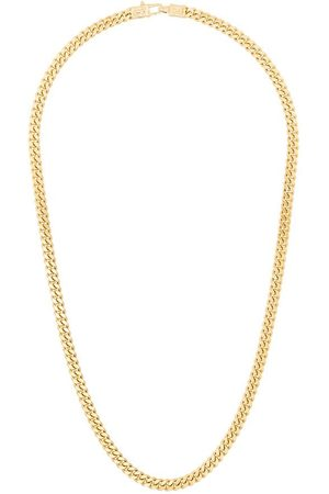 TOM WOOD Plated sterling silver curb chain necklace