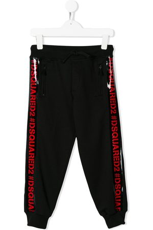 Dsquared2 Logo trim track pants