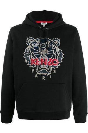 Kenzo Men Hoodies - Logo detail hoodie