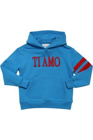 Alberta Ferretti Ti Amo Cotton Sweatshirt Hoodie