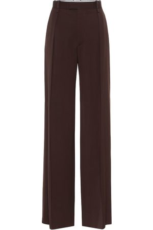 Bottega Veneta High-rise wide-leg wool pants