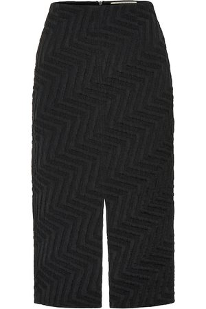 Roland Mouret Moka jacquard pencil skirt
