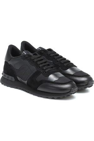 VALENTINO GARAVANI Rockrunner leather sneakers