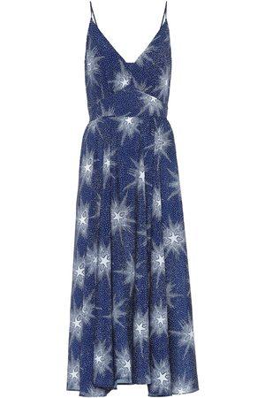 Paco rabanne Star-print midi dress