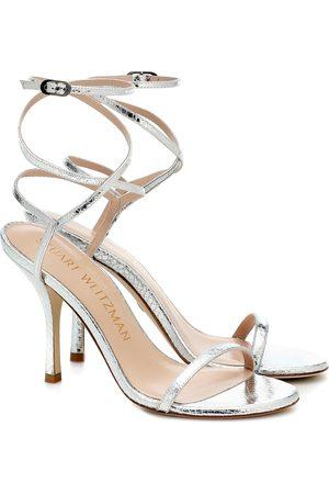 Stuart Weitzman Merinda snake-effect sandals