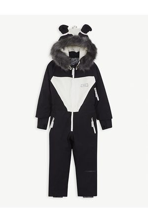 DINOSKI Patch panda ski suit 2-7 years