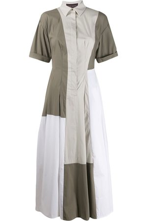 TALBOT RUNHOF Bourgeois colour block dress