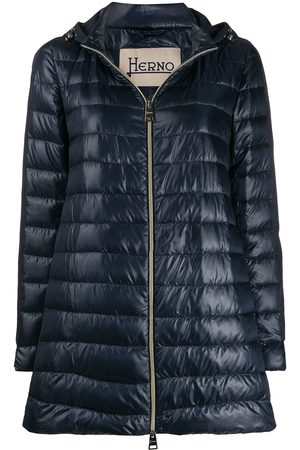 HERNO Padded hooded coat