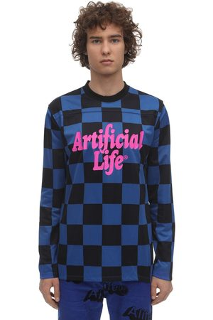 alife kickin Artifical Life Football Kit Ls T-shirt