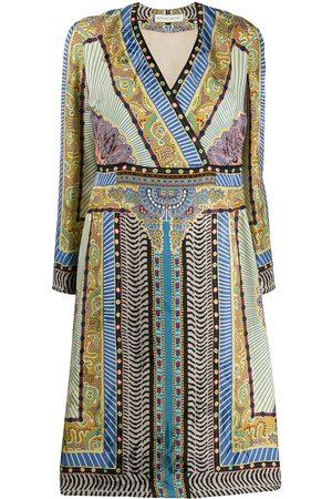 Etro Print mix dress - Neutrals