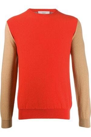 PRINGLE OF SCOTLAND Colour-block cashmere jumper