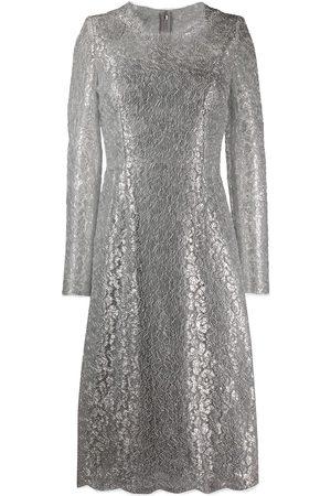 Dolce & Gabbana Women Midi Dresses - Lace midi dress