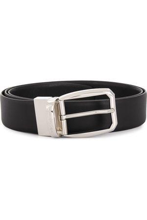 Ermenegildo Zegna Classic buckle belt - NER BLK SLD