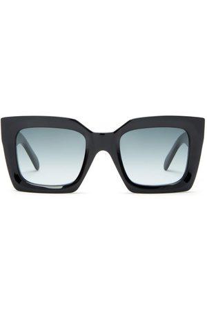 Celine Eyewear Oversized Square Acetate Sunglasses - Womens