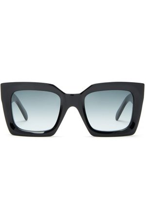 Céline Oversized Square Acetate Sunglasses - Womens
