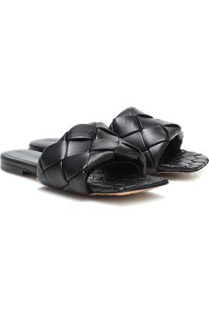 Bottega Veneta BV Lido leather slides