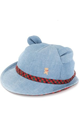 Familiar Bear ears denim hat