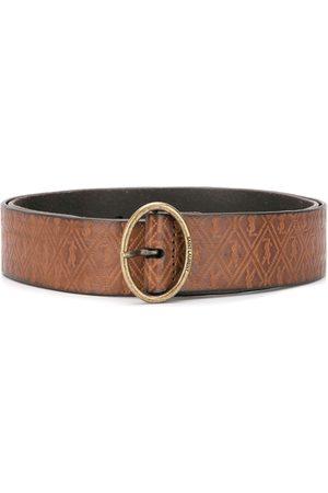 Saint Laurent Logo buckle belt