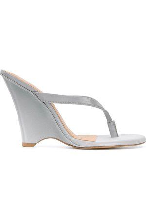 Yeezy Women Wedges - 110 wedge thong sandals