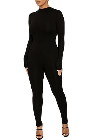 Naked Wardrobe Women's Long Sleeve Jumpsuit
