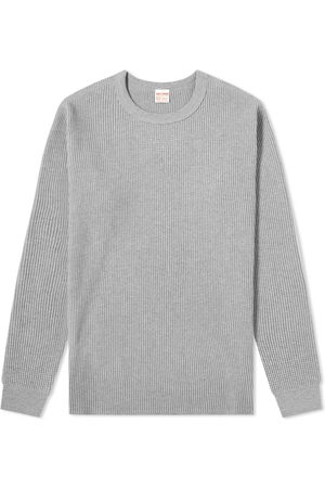 The Real McCoys The Real McCoy's Long Sleeve Waffle Thermal Tee