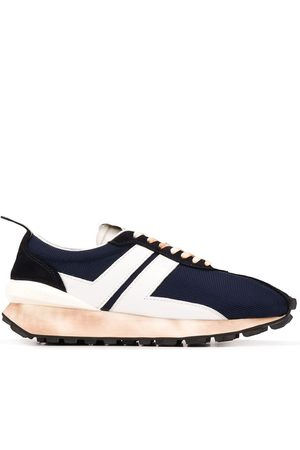 Lanvin Bumper panelled sneakers