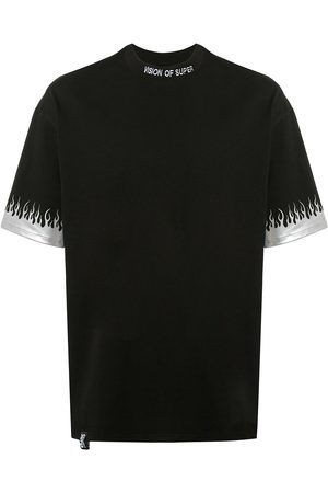 Vision Of Super Short sleeve flame print T-shirt