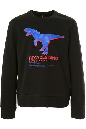 Blackbarrett Recycle dino' cotton sweatshirt