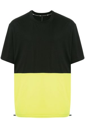 Blackbarrett Oversized colour-block T-shirt