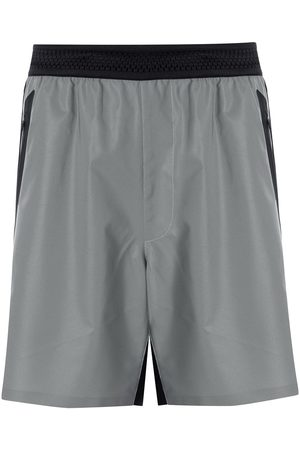 Blackbarrett Colour-block track shorts - Grey