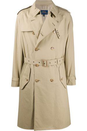 Polo Ralph Lauren Men Trench Coats - Double breasted trench coat - Neutrals
